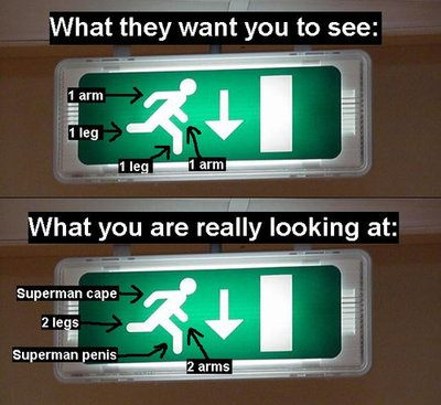 Emergency Exit Sign: Decoded