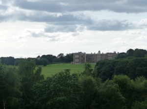 Temple Newsam house, as seen from the Little Temple.