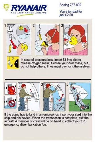 Ryanairs profiteering is getting ridiculous.