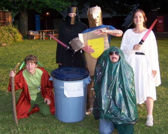 Best Star Wars Costumes..... EVER.