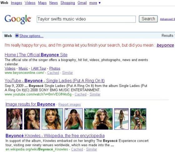 Google get on the Kanye meme bandwagon...